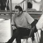 О. Николаев на репетиции, 1996 г.: фотография