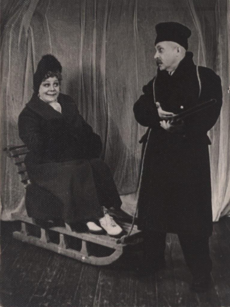 А. Адрианов, Н. Коносевич (спектакль «Владимирская горка»): фотография