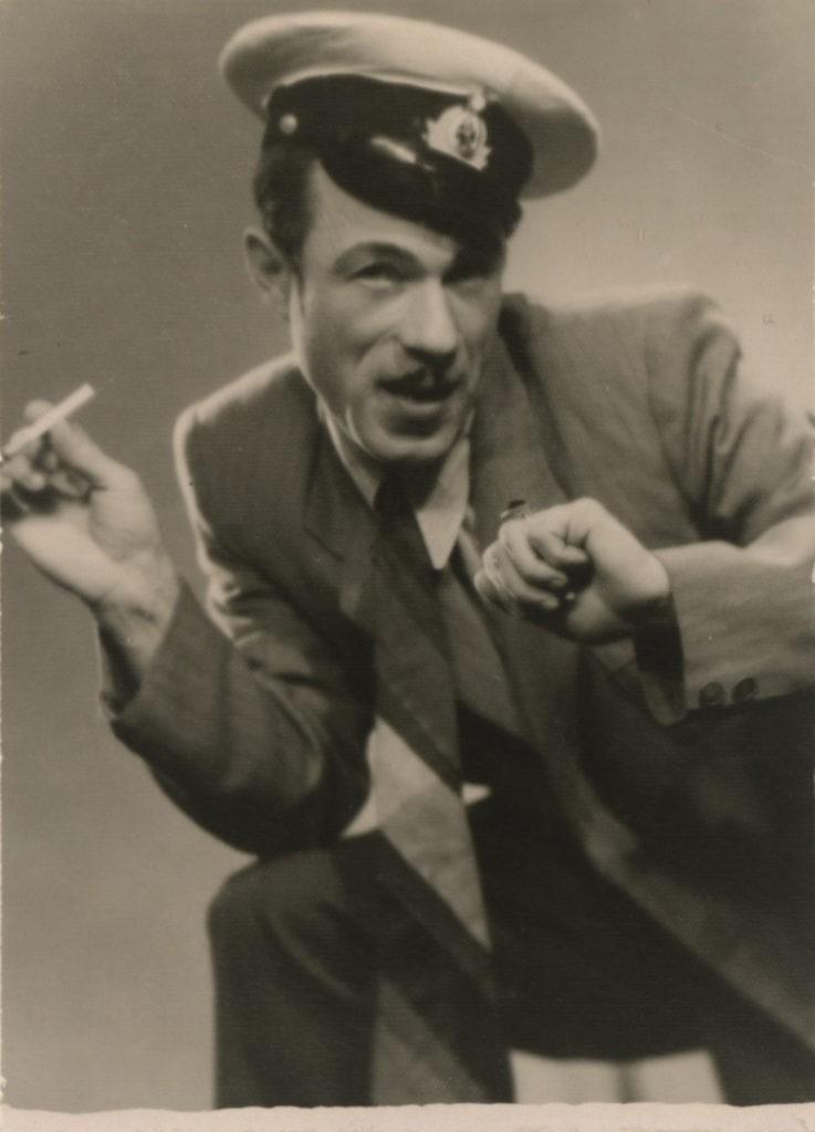 А. Бобров (оперетта «Белая акация», 1958 г.): фотография с автографом