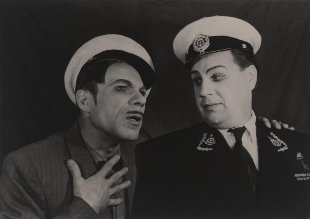 А. Бобров, Е. Григорьев (оперетта «Белая акация»): фотография