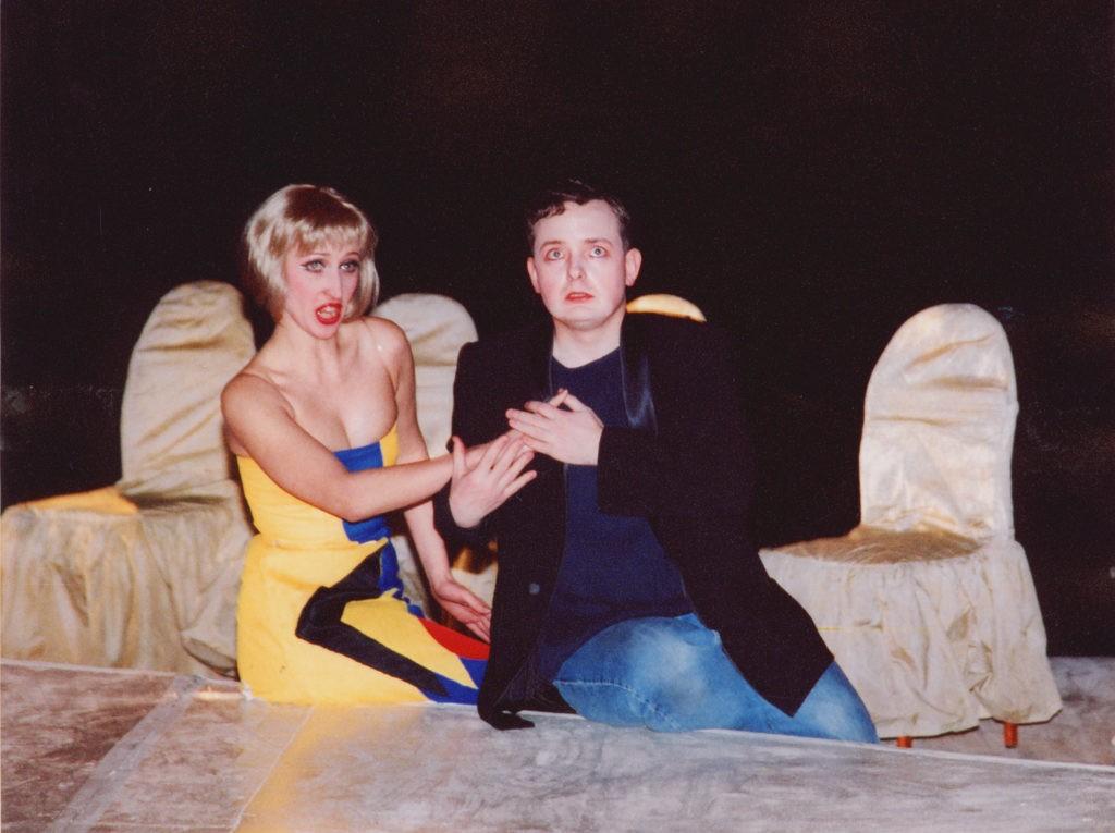 Э. Александрова, К. Голубятников (спектакль «Пиковая дама», 2001 г.): фотография