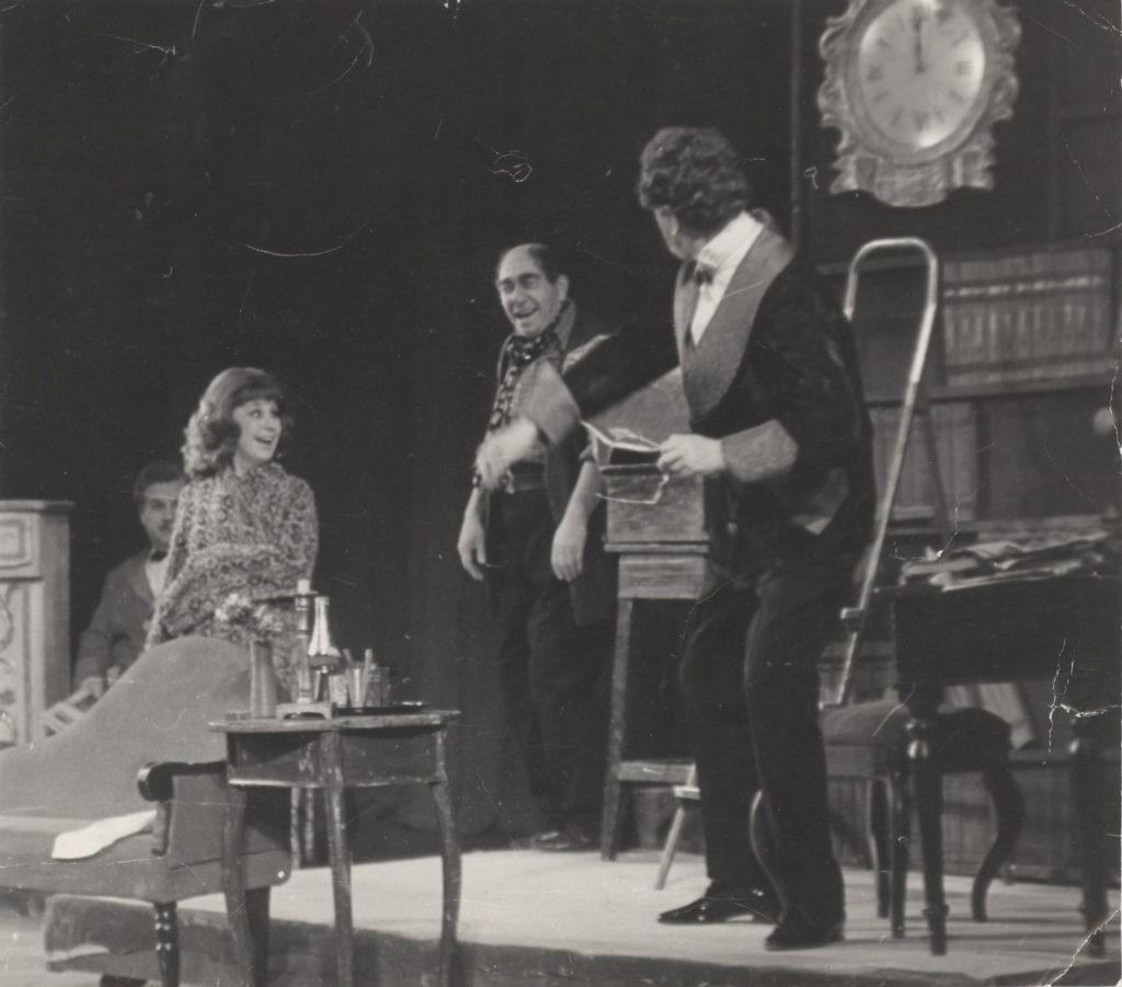 Сцена из спектакля «Моя прекрасная леди», 1974 г.: фотография