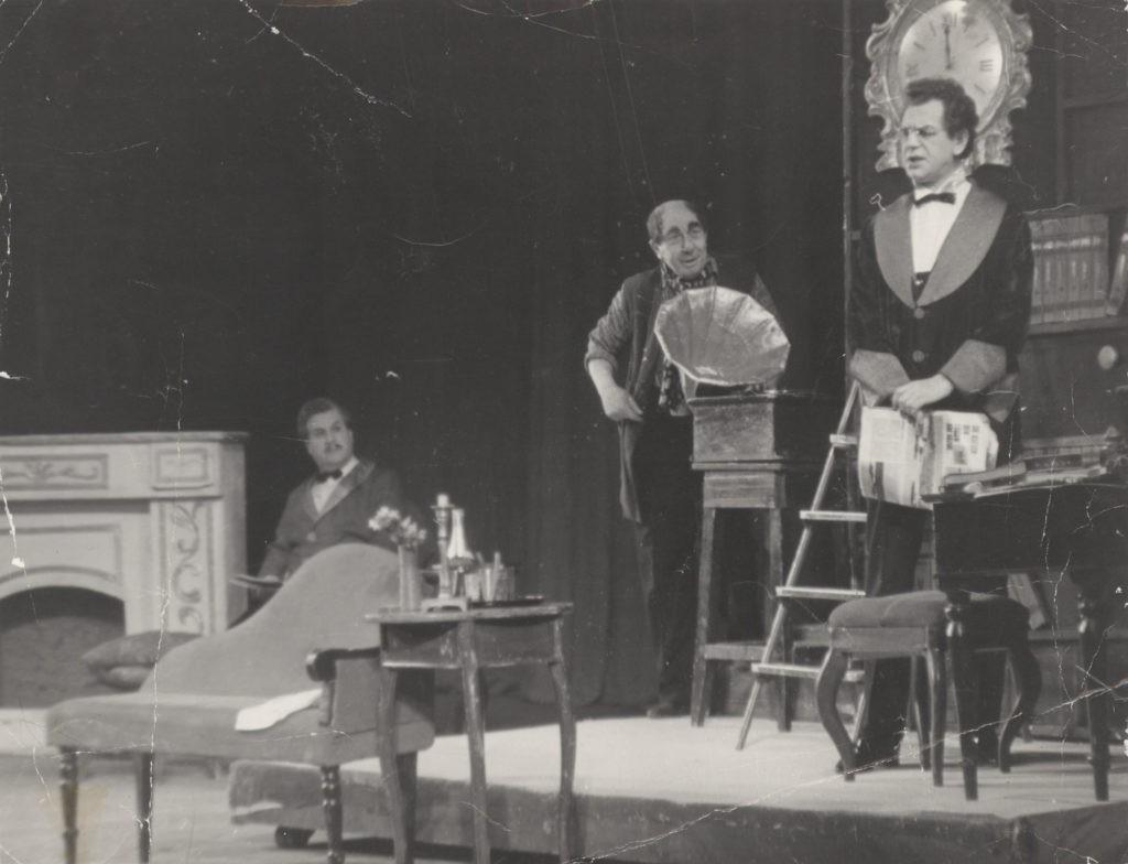 Сцена из музыкальной комедии «Моя прекрасная леди», 1974 г.: фотография
