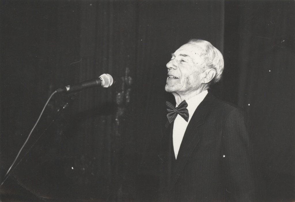 Юбилей А. Боброва, 07 октября 1995 г.: фотография