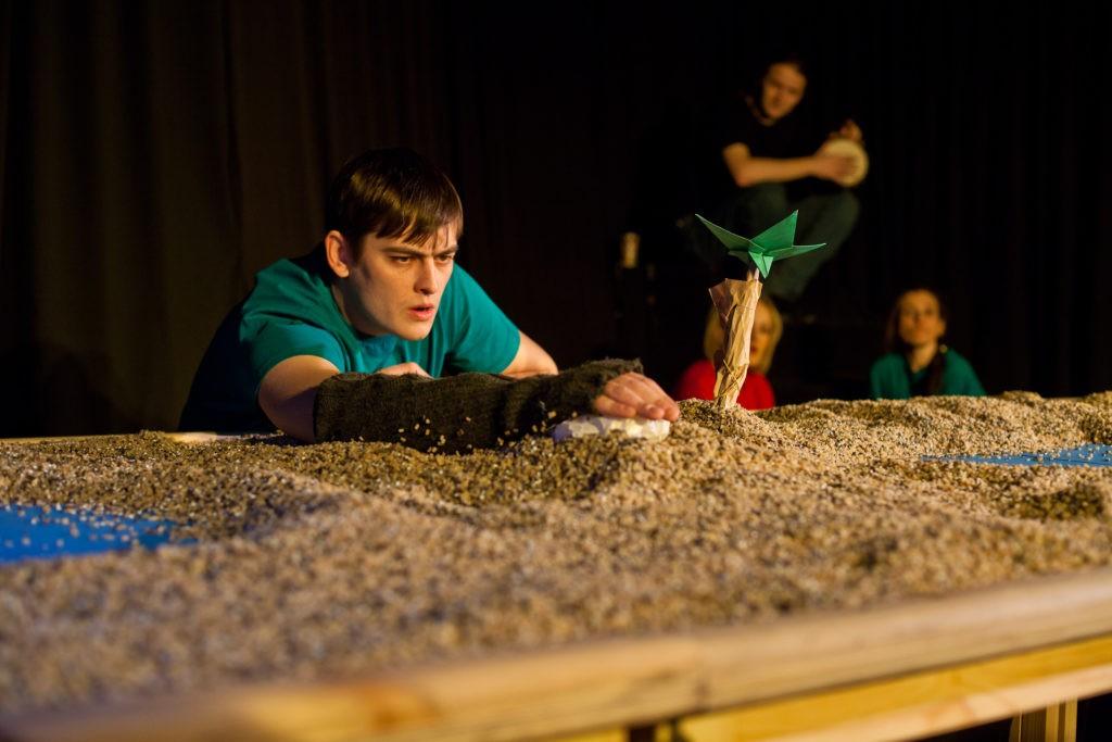С. Синицын (спектакль «Что случилось с крокодилом»): фотография