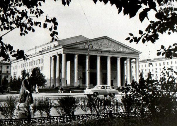 Кемеровский областной театр драмы, 1962 г.: фотография