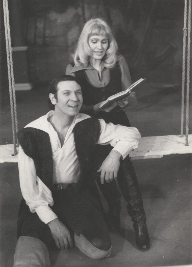 В. Мирошниченко, Л. Цуканова (спектакль «Дикарь»): фотография