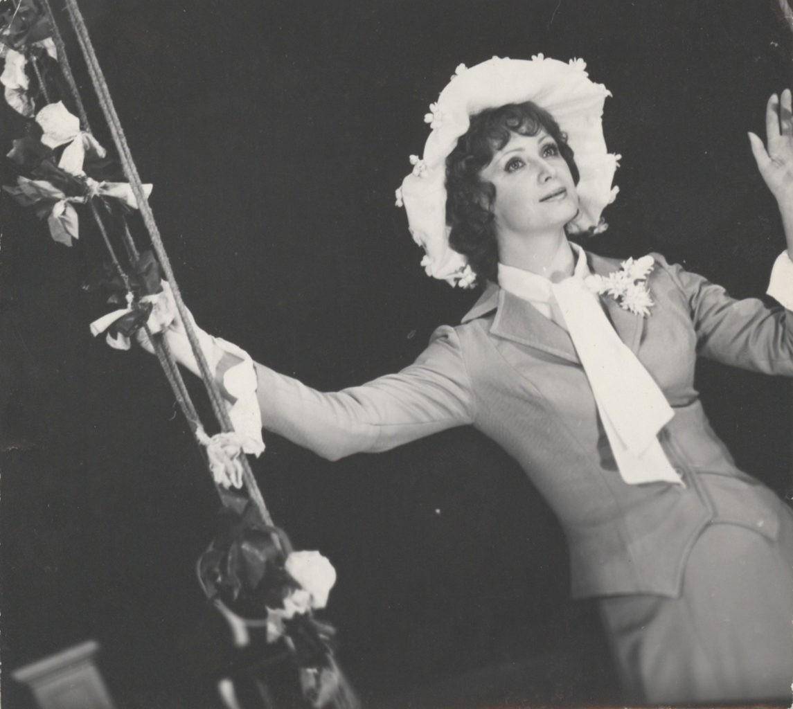 Л. Копылова (спектакль «Дикарь»): фотография