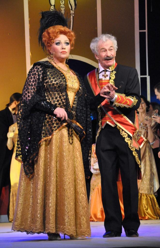 О. Белова, Е. Белов (оперетта «Сильва»): фотография