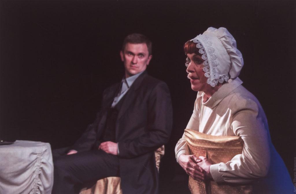 Ф. Бодянский, В. Нефёдова (спектакль «Пиковая дама»): фотография