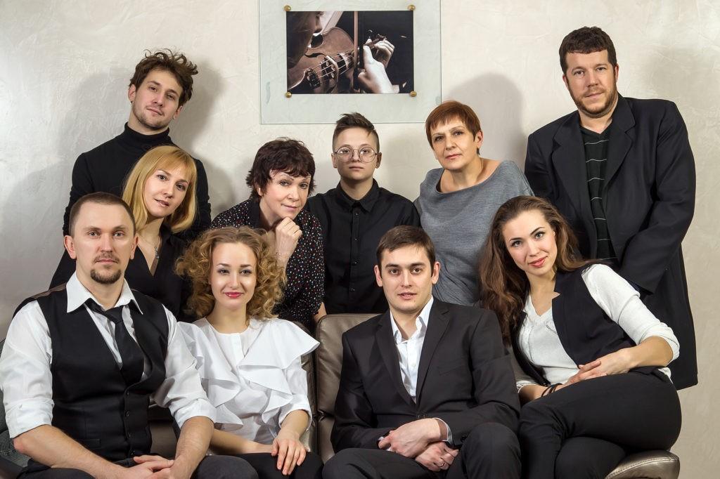 Коллектив театра «Слово»: фотография