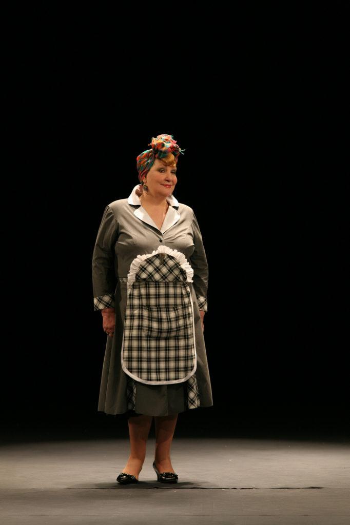 С. Царёва (спектакль «Восемь любящих женщин»): фотография