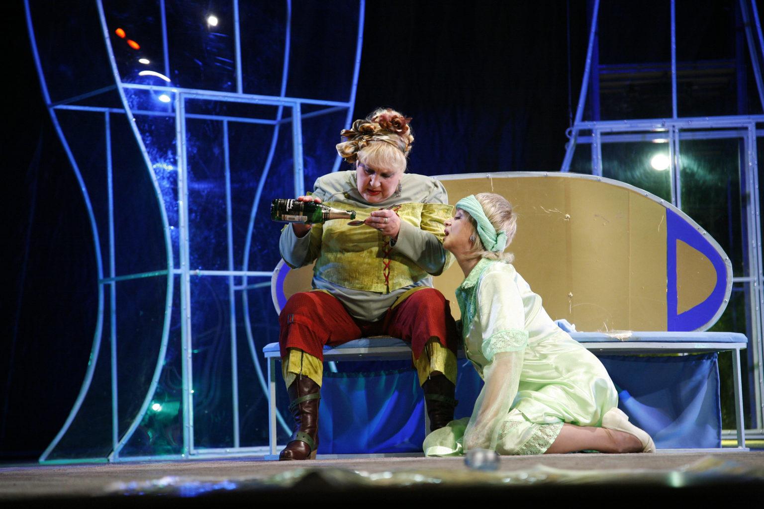 С. Царёва (спектакль «Ох, уж эта Анна!»): фотография