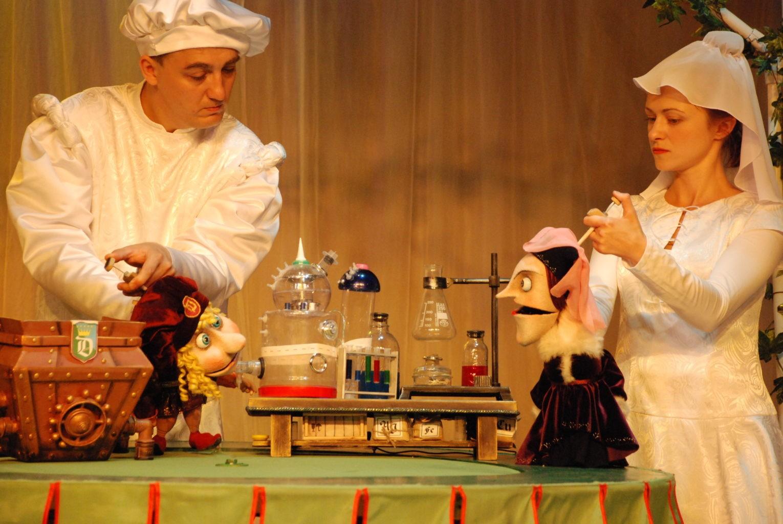А. Ахмедов (спектакль «Волшебные жёлуди»): фотография