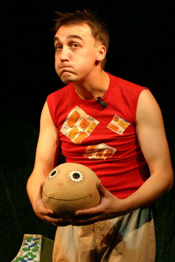 А. Ахмедов (спектакль «Колобок»): фотография