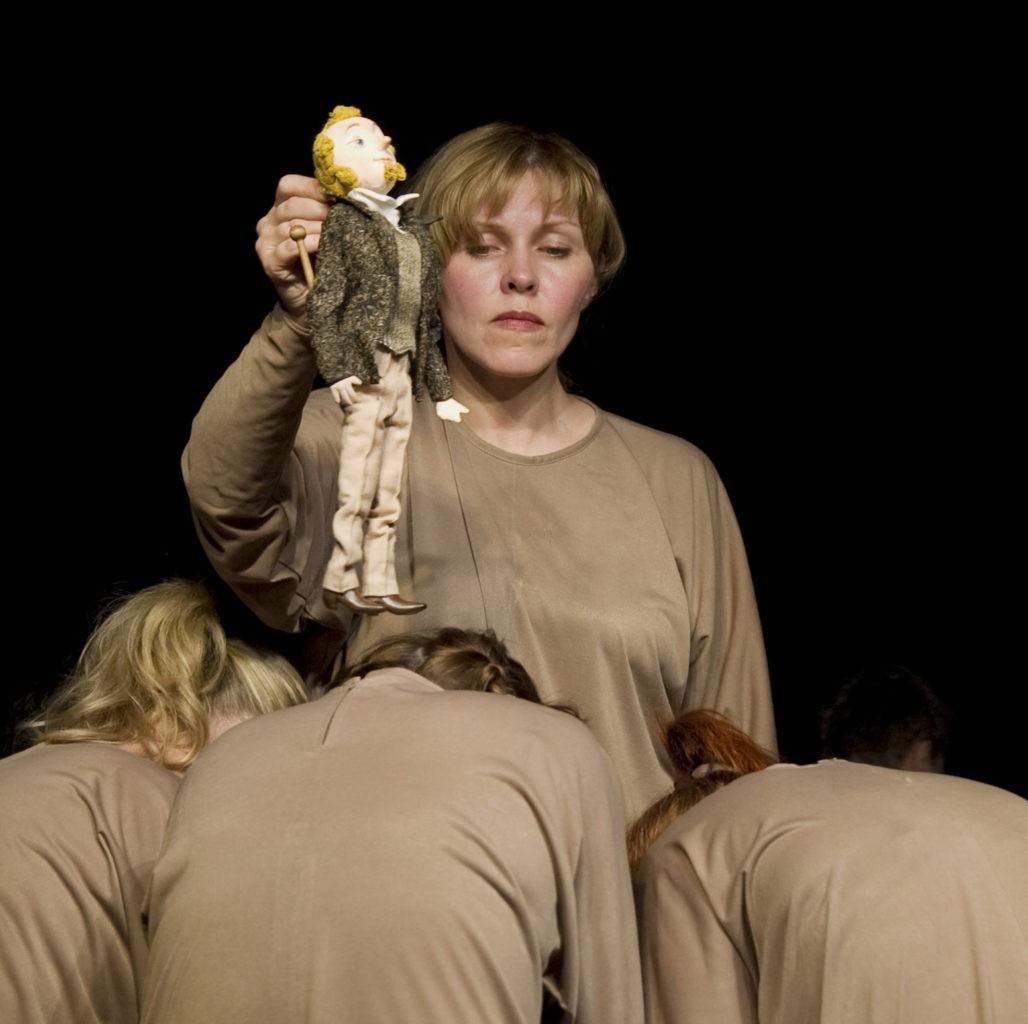 Е. Качалина (спектакль «Пер Гюнт»): фотография