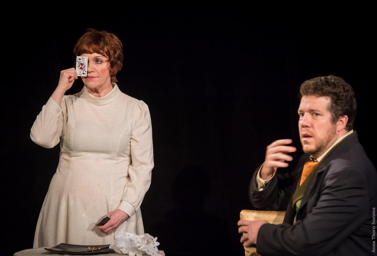 В. Нефёдова, Г. Забавин (спектакль «Пиковая дама»): фотография
