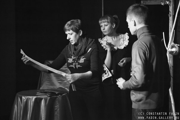 И. Латынникова, А. Булыгина (спектакль «Много хороших людей и один завистник»): фотография