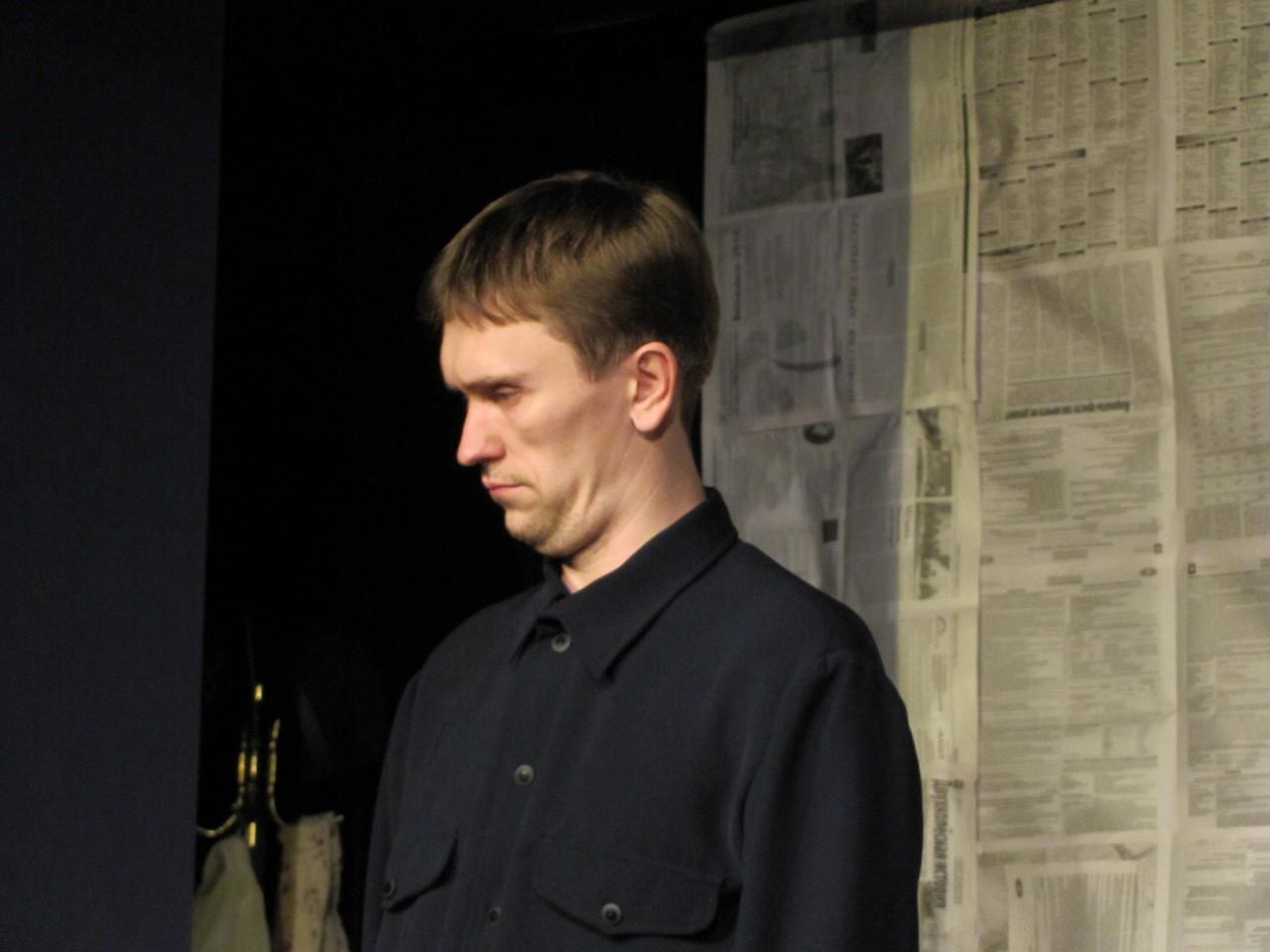 Ф. Бодянский (спектакль «На солнечной стороне улицы»): фотография