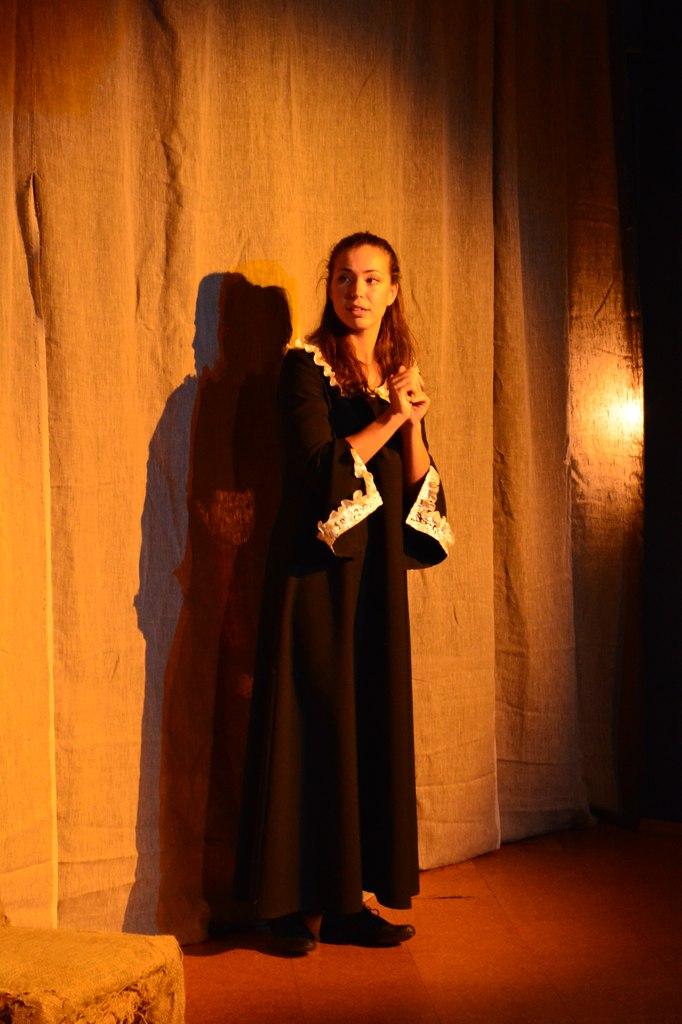 Н. Степанова (спектакль «Портрет»): фотография