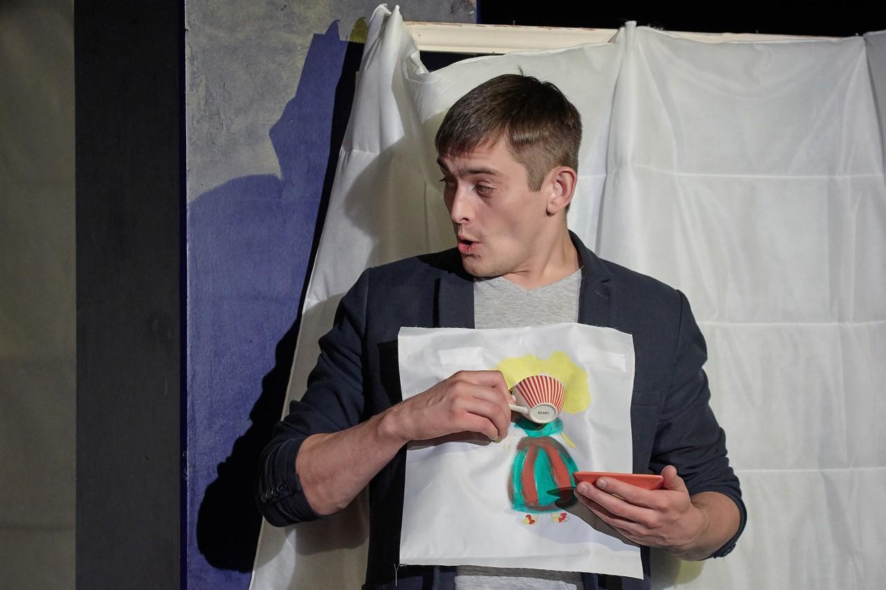 С. Синицын (спектакль «Слон»): фотография