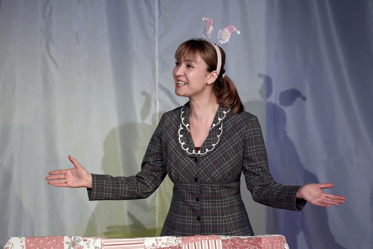Е. Черткова (спектакль «Слон»): фотография