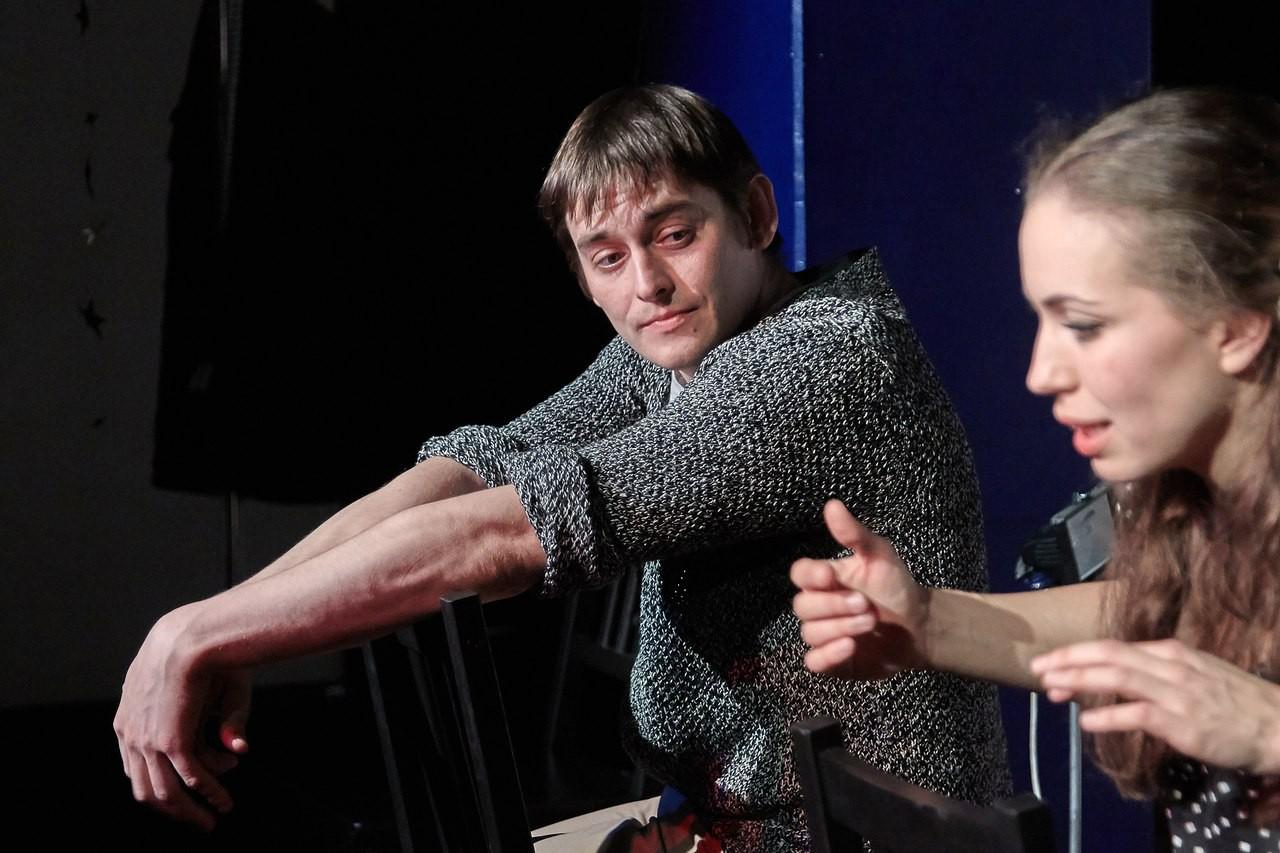 С. Синицын, Н. Степанова (спектакль «Мадам Бовари»): фотография