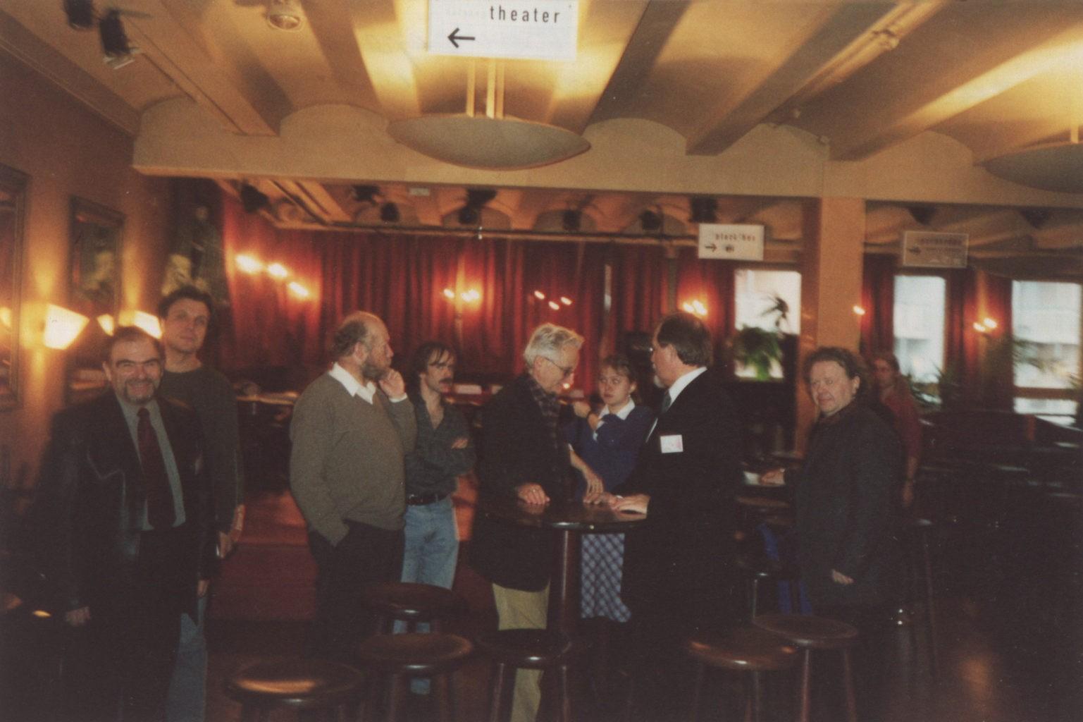 Музыкальный театр Кузбасса на гастролях в г. Нюрнберг со спектаклем «Пиковая дама», перед пресс-конференцией: фотография