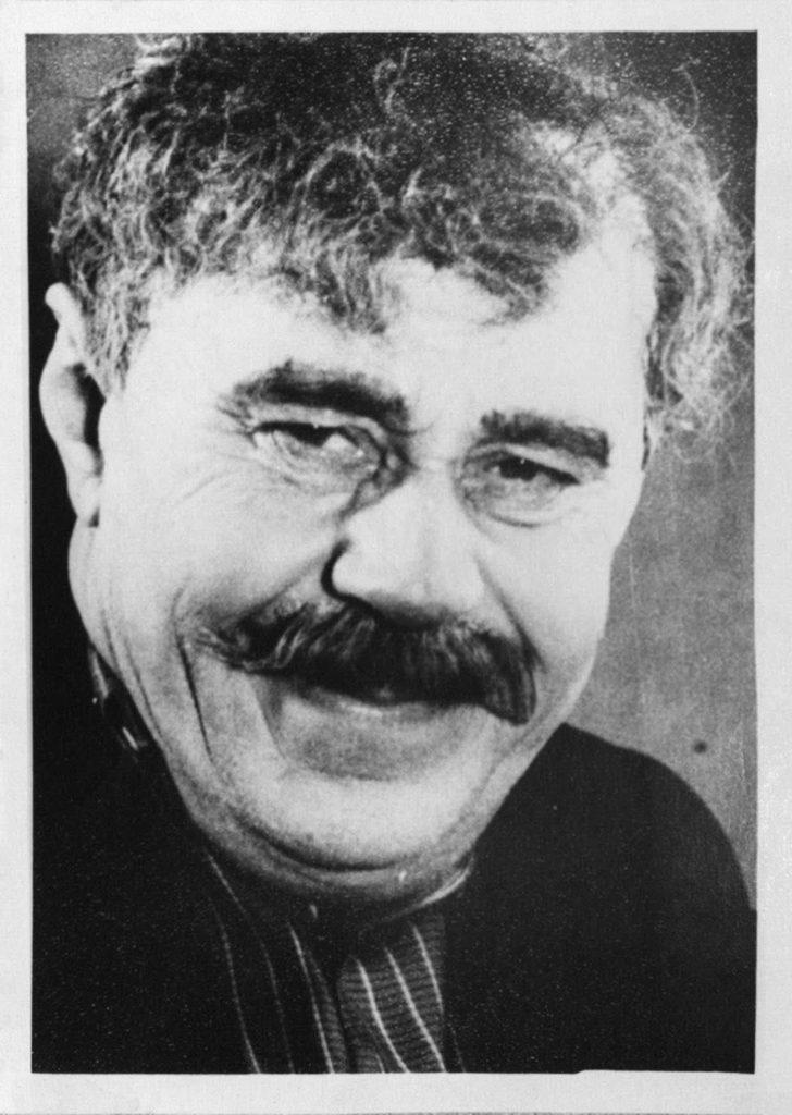 П. Князев (сцена из спектакля «В поисках радости». 1958-1959 гг.): фотография