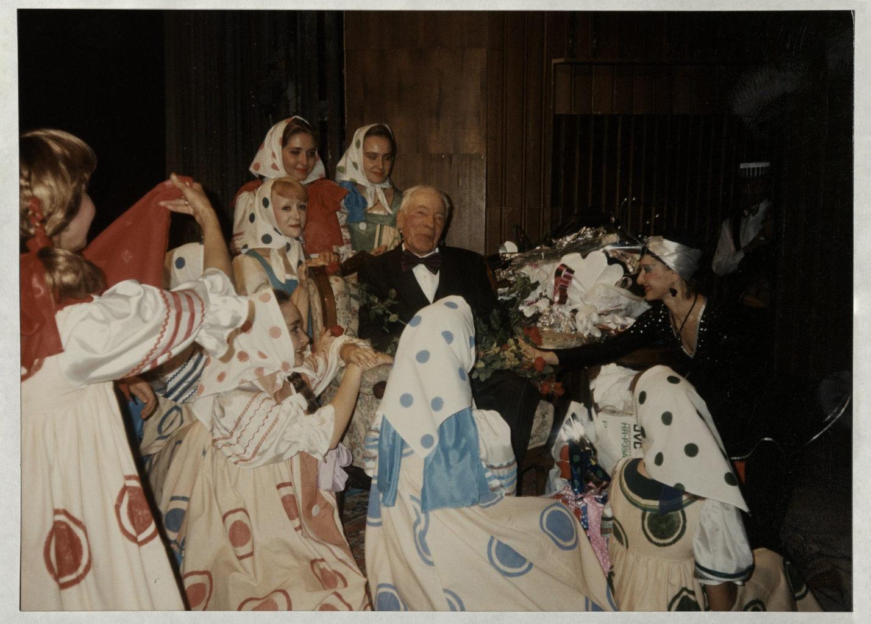 А. Бобров, 1995 г. (юбилей): фотография