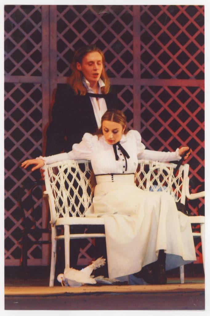 А. Ковзель, И. Литвиненко (спектакль «Чайка», 2004 г.): фотография