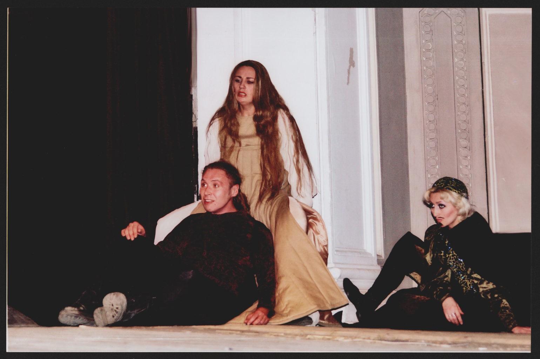 А. Ковзель, И. Литвиненко, Е. Амосова (спектакль «Гамлет»): фотография