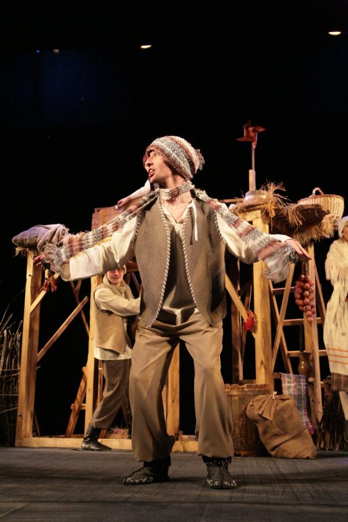 М. Голубцов (спектакль «Путешествие Нильса с дикими гусями»): фотография