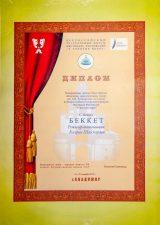 Диплом участника Всероссийского театрального форума Фестиваля Фестивалей, г. Владимир, 2014 г.