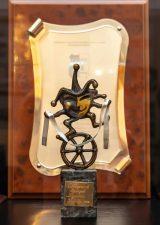 Памятный знак участнику Шестого фестиваля «Сибирский транзит», Бурятия, г. Улан Удэ, 2006 г.